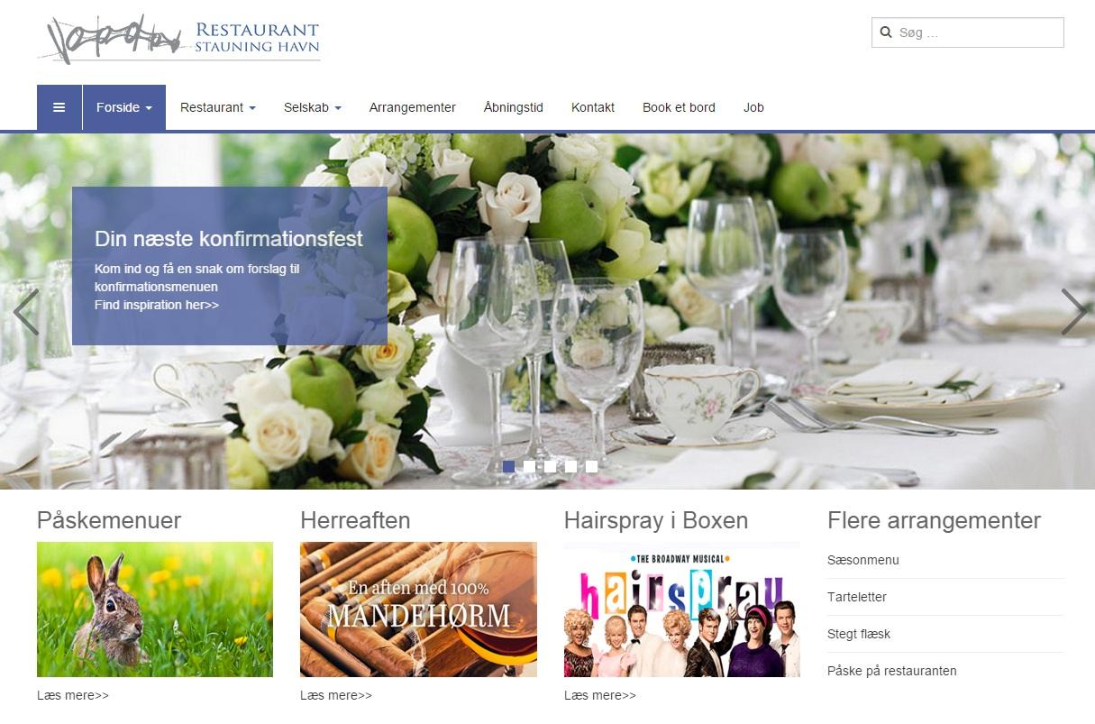 stauning havn restaurant